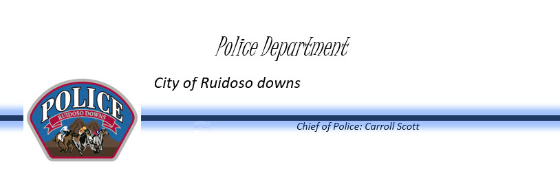 Ruidoso Downs Police Department, NM