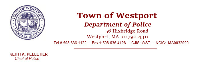 Westport Police Department, MA