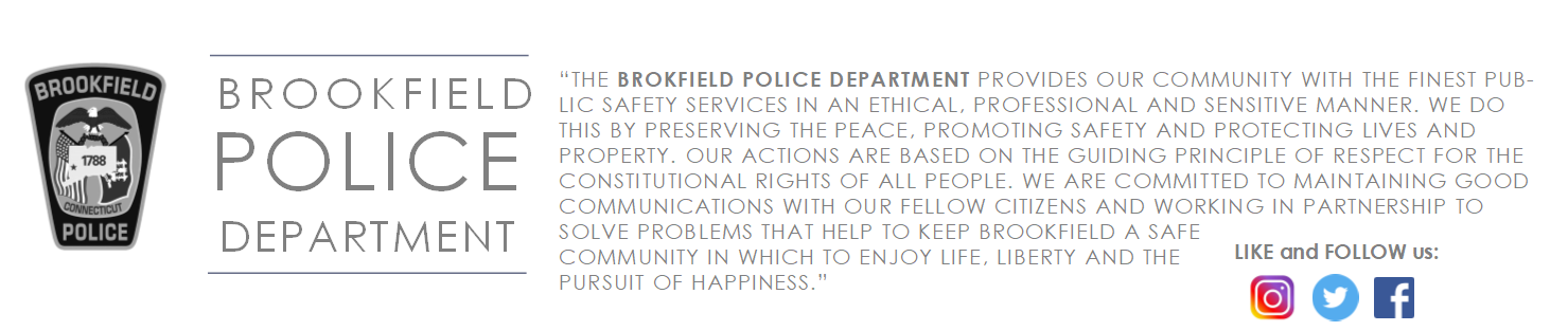 Brookfield Police Department, CT