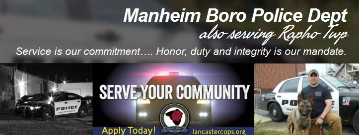 Manheim Borough Police Department, PA